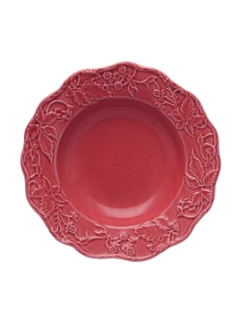 Picture of Soup Plate 24 Dark Pink