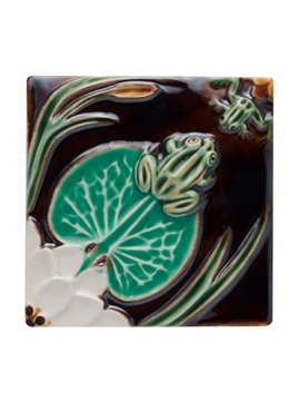 Picture of Tile Frogs with Waterlily 13
