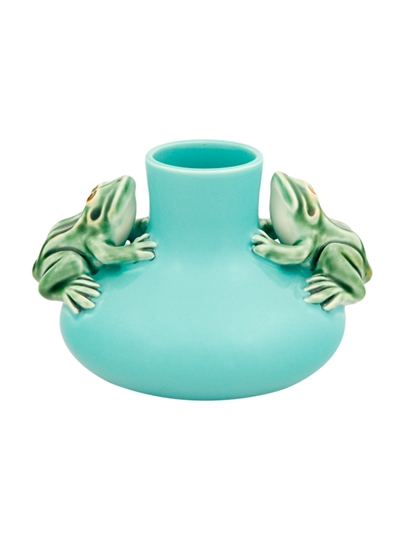 Picture of Small Vase Two Frogs