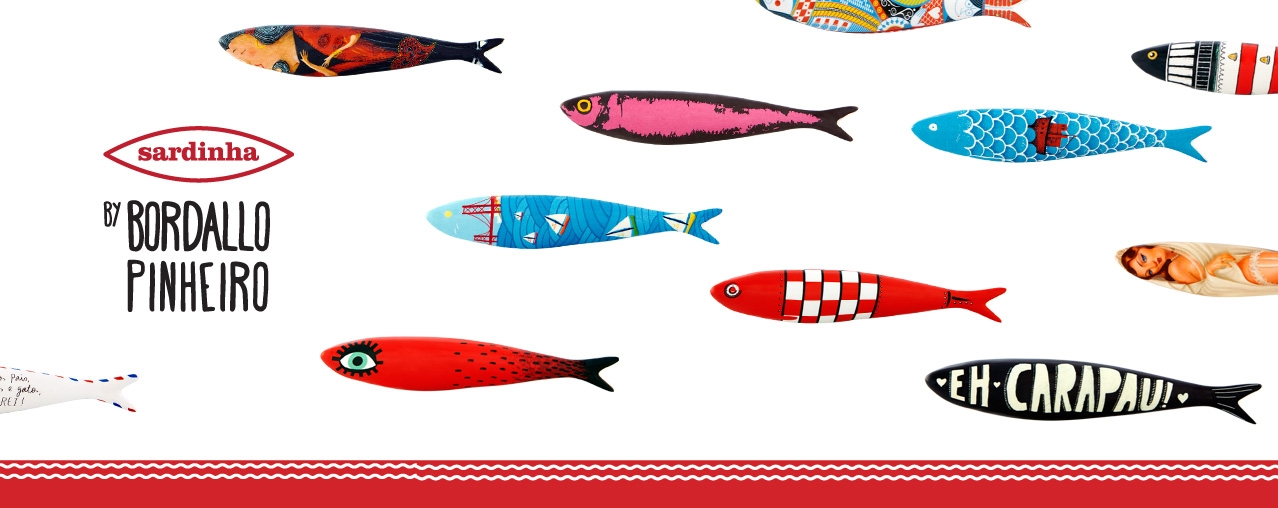 Get to know the amazing Bordallo Pinheiro's collection of 22 sardines.