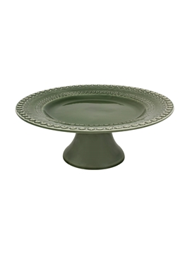 Picture of Fantasia - Cake Stand 28 Green Olive Tree